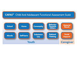 cafas child and adolescent functional assessment scale multi