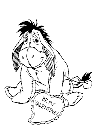 eeyore coloring page funycoloring