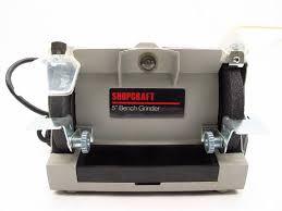 shopcraft bench grinder property room