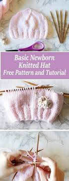 newborn pattern video free basic newborn knitted hat pattern 0 to 3 months old knitted