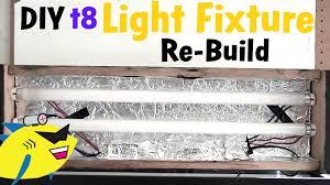 Led Aquarium Light Fixtures How To Make Diy Aquarium Light T8 Light Fixture Build