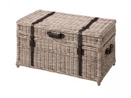 Wicker Trunk Coffee Table Grey Rectangle Modern Wicker Trunk Coffee Table Ideas For Living