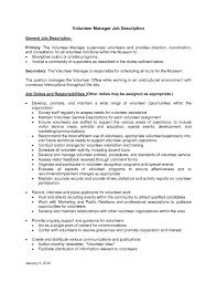 Sample Volunteer Resume by Volunteer Resume Sample Sample Extension Letter For Volunteer