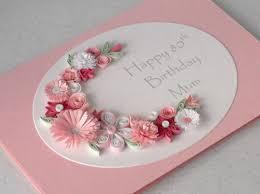 quilled 80th birthday card mum folksy