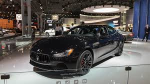 maserati ghibli modified maserati ghibli nerissimo edition launched in new york motoraty