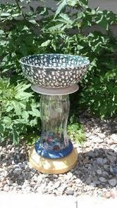 wilson and fisher solar lighted bird bath wilson fisher solar butterfly glass bird bath at big lots