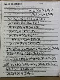 concept review balancing chemical equations answer key tessshlo