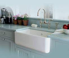 kitchen case study white country cabinets bridge faucet picture