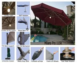 Outdoor Furniture Replacement Parts by Tips Patio Umbrella Repair Cantilever Umbrella Replacement