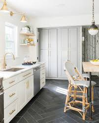 White Kitchen Tile Floor Excellent Best 25 Tile Floor Kitchen Ideas On Pinterest White