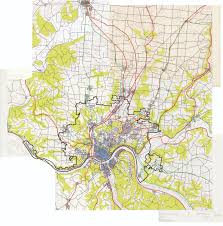Map Of Cincinnati Terra Interrotta Divergence In Architecture U0026 Urban Planning