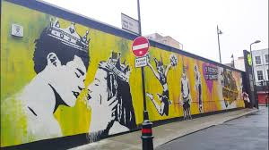 London Wall Murals Five Seconds Of Summer Mural Appears In London As Part Of