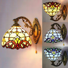 Stained Glass Wall Sconce Style Wall Sconce Ebay