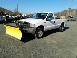 ford f250 trucks for sale used 2005 ford f250 plow truck 4wd 3 4 ton truck for sale