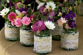 jar center pieces jar centerpieces wedding ideas wedding party decoration