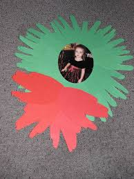 christmas wreath kids craft my little bit of life