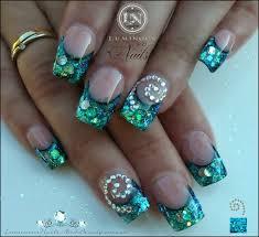 luminous nails u0026 beauty gold coast qld paua shell nails with
