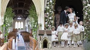 wedding flowers church the amazing flowers to fill the church of pippa middleton s