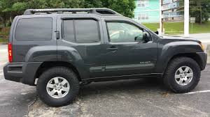 2003 nissan xterra lifted removed mud guards and step rails after ome lift and ko2 285 75r16