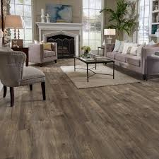 Wood Look Laminate Flooring Flooring Rustic Laminate With Baseboard Detail Home Improvement