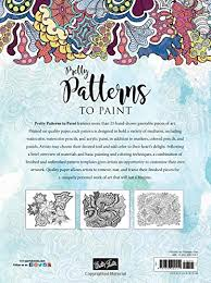 pretty patterns to paint more than 25 whimsical poster size