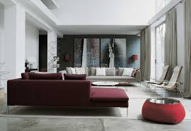 modern chic living room ideas living room wall frame decor maroon furniture simple design