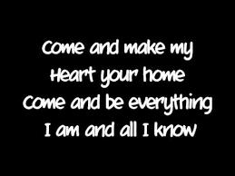 make my home my heart your home watermark lyrics youtube