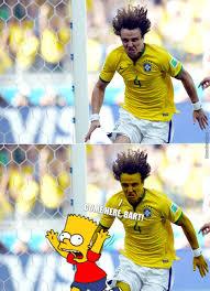 David Luiz Meme - david luiz or sideshow bob by bakoahmed meme center