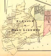 Map Of Western Pennsylvania by The History Of Brookline The First 260 Years 1754 2014