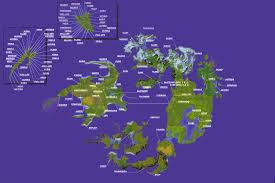 Fantasy World Maps by Final Fantasy Viii World Map