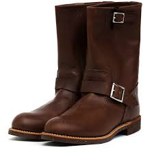 engineer motorcycle boots 2991 11 u2033 engineer amber harness red wing shoe store amsterdam