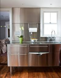contemporary kitchen ideas with stainless steel kitchen island fantastic stainless steel kitchen island used in industrial kitchen design with glossy backsplash and white framed