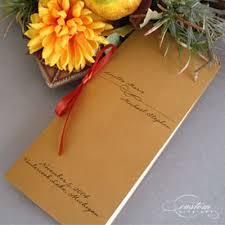 Booklet Wedding Programs Booklet Programs