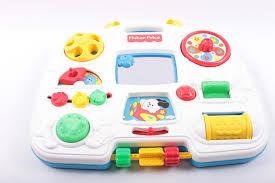 vintage fisher price activity center crib toy baby toy 1990 u0027s