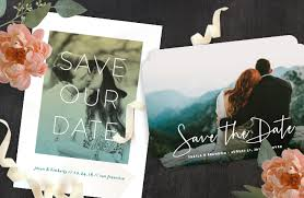 custom save the dates save the date invitations
