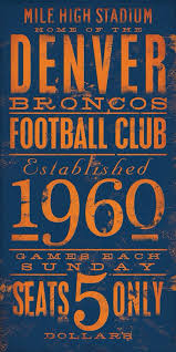 denver visitors bureau broncos denver broncos country