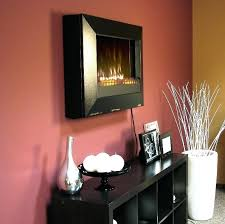 Wall Mounted Electric Fireplace Heater Electric Fireplace Wall Mount Rona Ebay Flat Panel Heater Reviews
