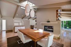 Dining Room Floor Reaching The Perfect Mid Century Modern Look In Your Dining Room
