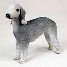 bedlington terrier seattle canine kingdom dog breed figurines dog statues dog gifts