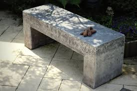 Concrete Table And Benches Concrete Garden Bench 9 Steps With Pictures