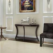 Living Room Wall Table Semi Circle Coffee Console Sofa End Tables For Less
