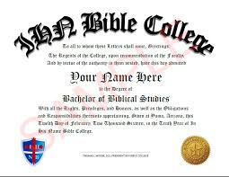 Bible College Acceptance Letter ihn degree programs ihn bible college