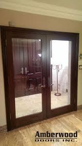 custom glass interior doors 12 best amberwood interior doors images on pinterest interior