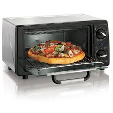 Cooking In Toaster Oven Hamilton Beach 4 Slice Capacity Toaster Oven 31144