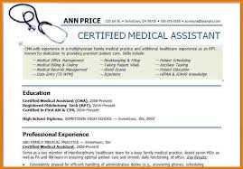 6 medical resume templates assistant cover letter
