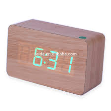 Minimalist Alarm Clock by Wooden Led Digital Alarm Clock Wooden Led Digital Alarm Clock