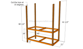 Tv Stand Plans Howtospecialist How by How To Build A Lemonade Stand Howtospecialist How To Build
