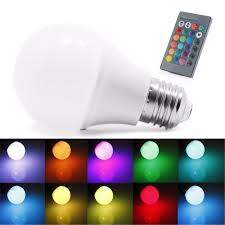 Rgb Led Light Bulb With Remote by 85 265v 10 15w E27 Rgb Led Light Color Change Lamp Bulb Remote
