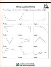 14 best angle worksheets images on pinterest geometry worksheets