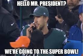 Nick Foles Meme - nick foles on the phone with the president imgflip